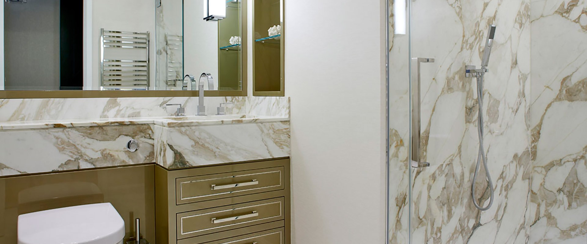 Bespoke Bathroom Glass Installation