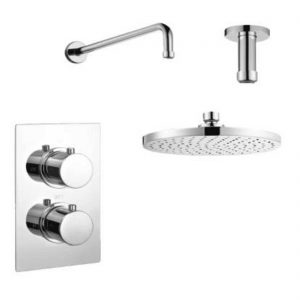 Shower Set 1 WRAS Approved single outlet thermostatic Shower Mixer