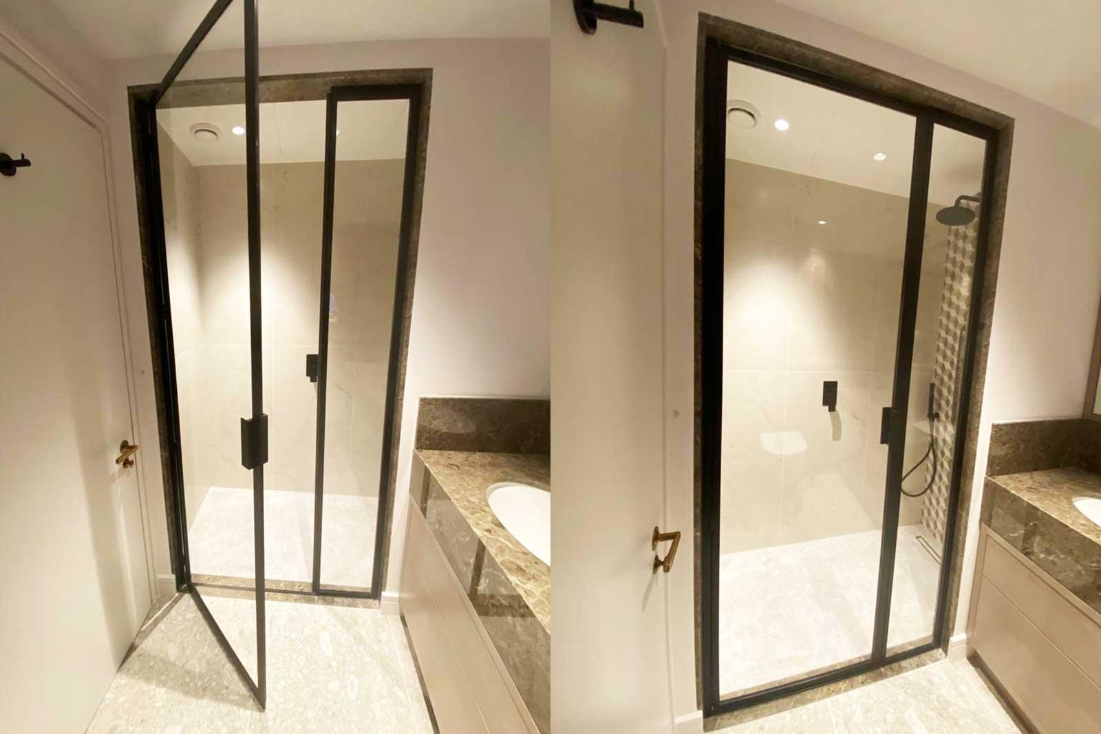 Private Client Kensington Black Collection Shower Doors
