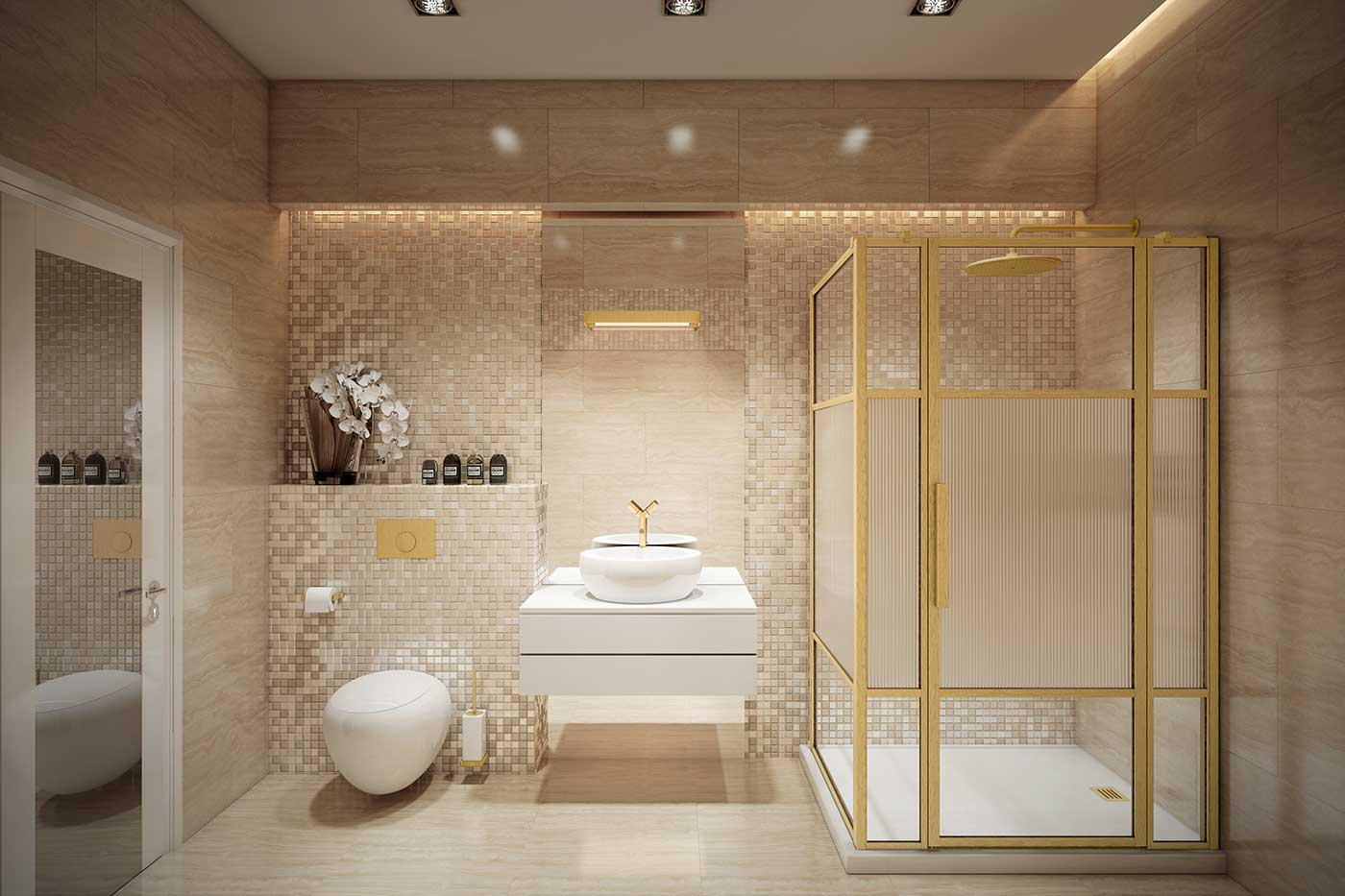 Explore the key bathroom trends for 2021