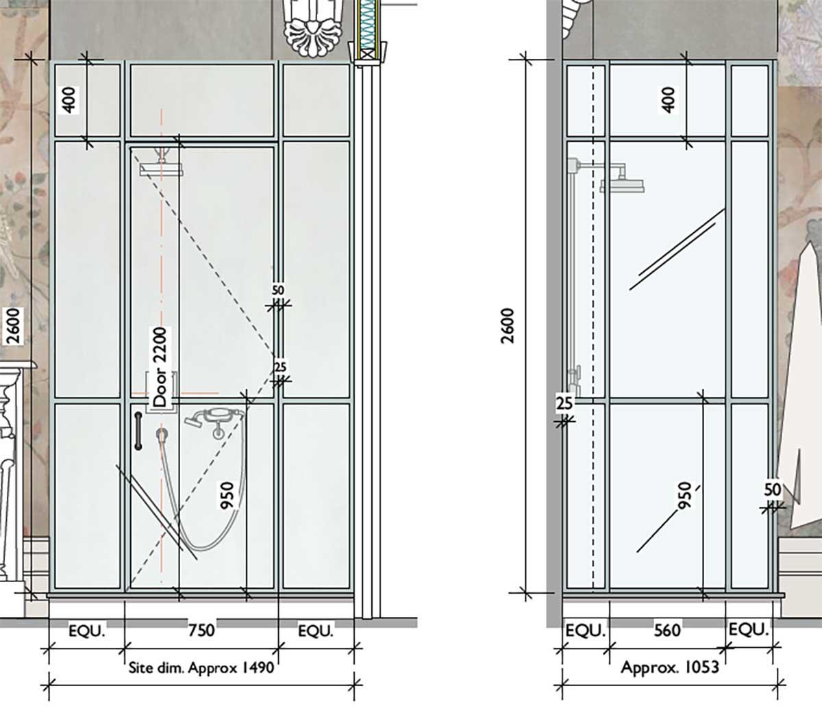 Client Design Shower Enclosure